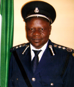 Inspector-General of the Sierra Leone Police (SLP), Francis Munu