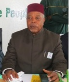 Concerned … SLPP National Chairman and Leader, Chief Somano Kapen