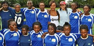 Sierra Leone femal team