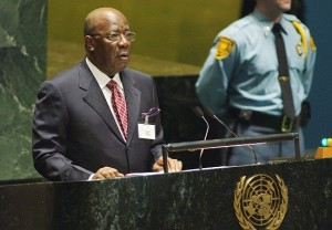 SIERRA LEONE MOURNS ... late President Kabbah will be remembered for returning Sierra Leone to peace