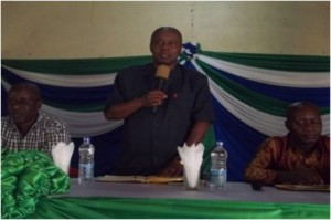 Dr. Kargbo urges equal rights and opportunities in land access and ownership