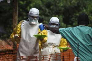 Health Workers Treating Ebola patients
