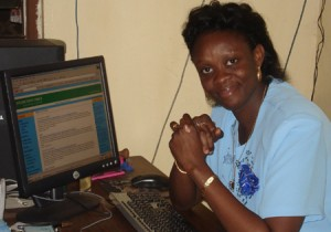 SAD END... former SEA, Sylvia Blyden returns to her newspaper business