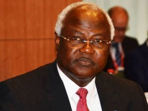 TROUBLING TIMES … President Koroma is not a happy man these days