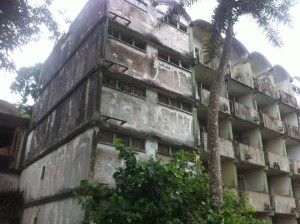 In ruin: FBC hostels are in dilapidation and in need of renovation