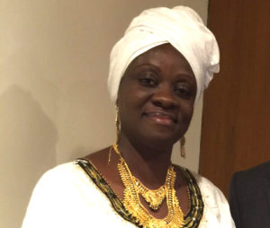 Slyvia Blyden: barred from entering a disputed land
